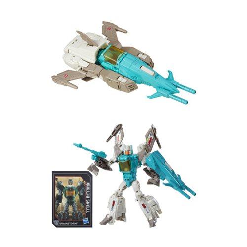 Transformers Generations Titans Return Deluxe Brainstorm