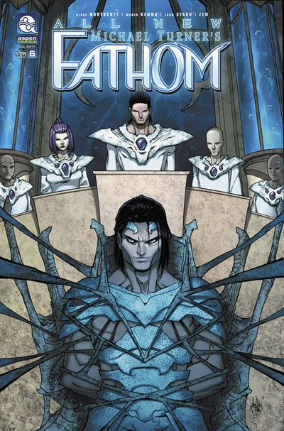 All New Fathom #6 (Cover A – Renna)