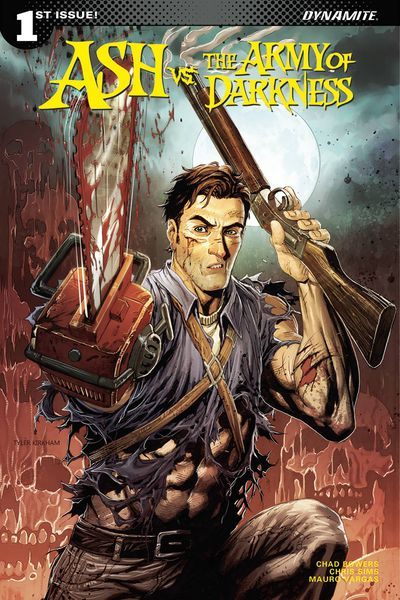 Ash vs. Army of Darkness #1 (Cover A – Kirkham)