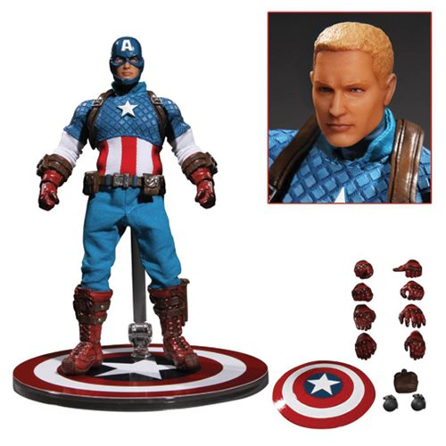 Captain America One:12 Collective Action Figure – Free Shipping
