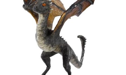 Game of Thrones Drogon Baby Dragon Statue
