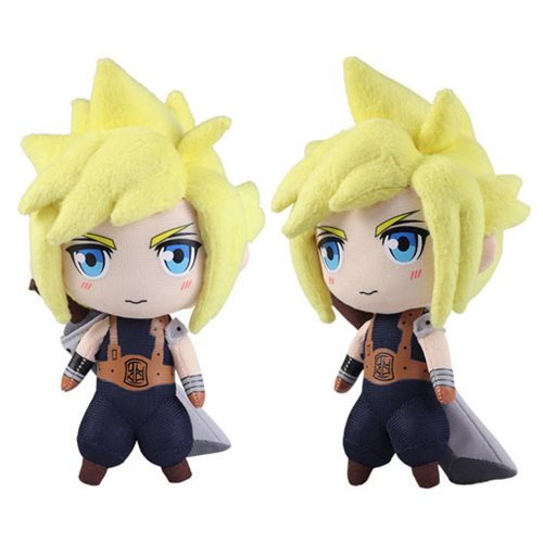 Final Fantasy VII Cloud Strife Mini Plush