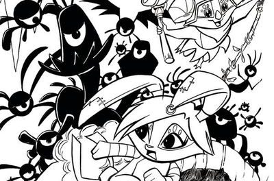 Animal Jam #2 (of 3) (Cover C – Coloring Book Cover)