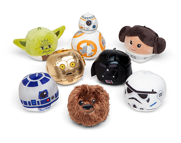 Star Wars Fluffballs Exclusive 8-Pack