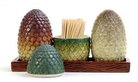 Game of Thrones – Dragon Egg Salt & Pepper Shakers