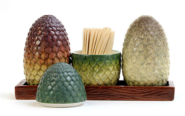 Game of Thrones – Dragon Egg Salt & Pepper Shakers