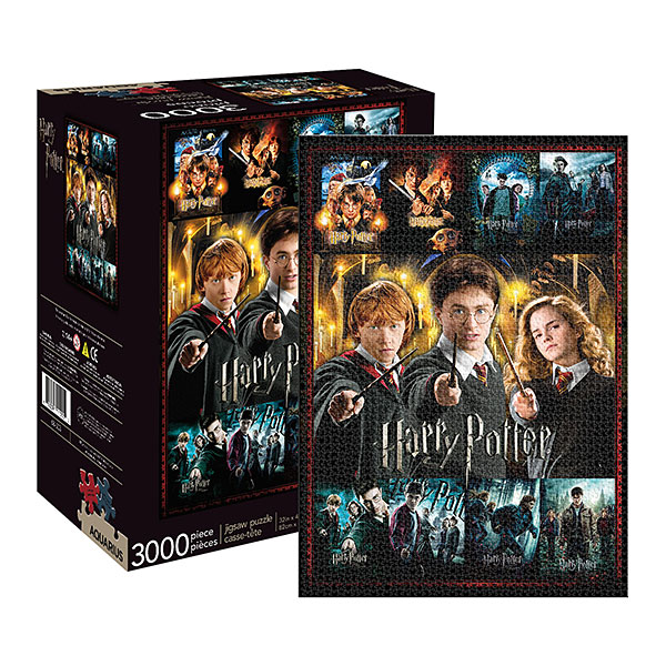 Harry Potter Collage 3000pc Puzzle