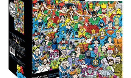 DC Comics Retro Cast 3000pc Puzzle
