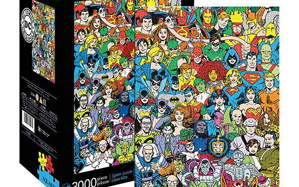 DC Comics Retro Cast 3000pc Puzzle