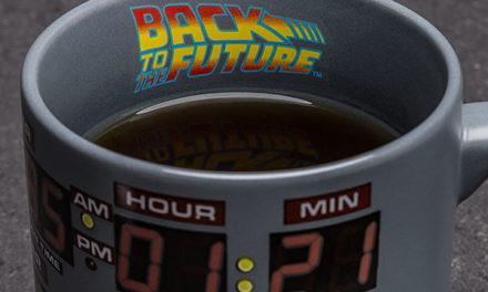 Back to the Future Heat Changing Mug – EXCLUSIVE