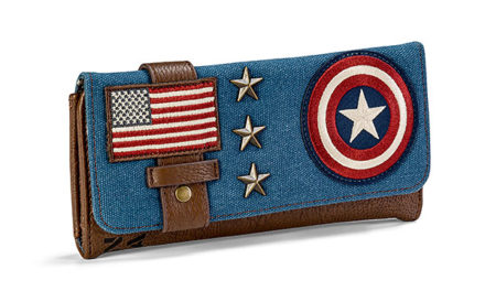 Captain America Canvas Wallet