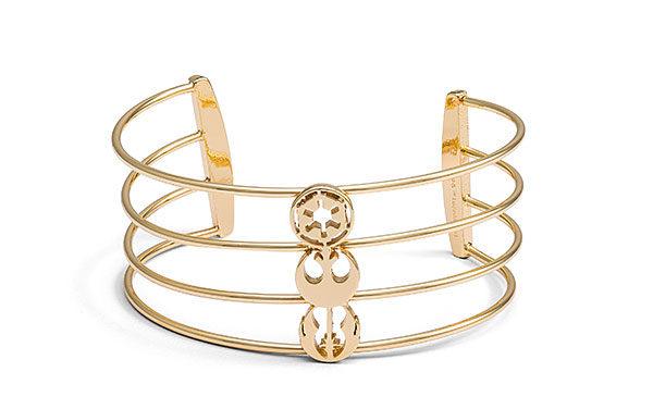 Star Wars Symbols Cuff Bracelet