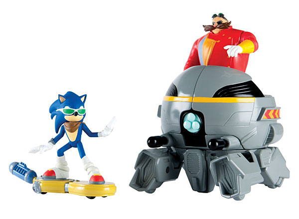 Sonic Versus Dr. Eggman Playset