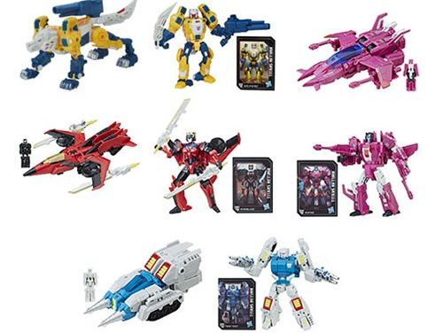 Transformers Generations Titans Return Deluxe Wave 5 Set