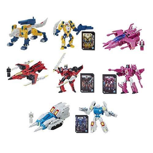 Transformers Generations Titans Return Deluxe Wave 5 Set