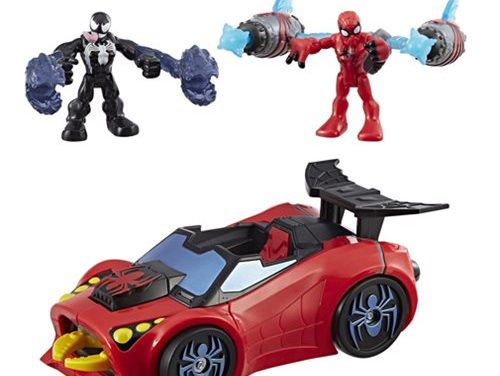 Super Hero Adventures Spider-Man Arachnid Racer