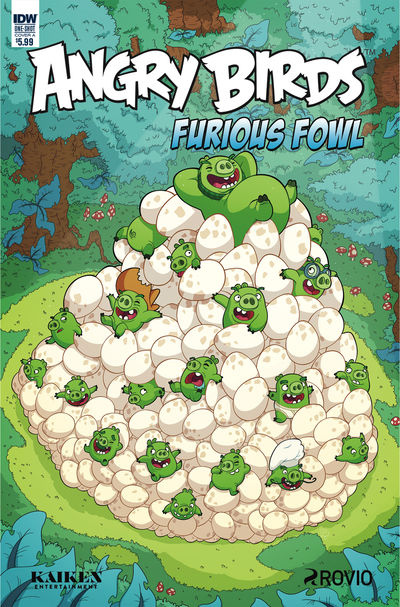 Angry Birds Furious Fowl (Cover A – Murphy)