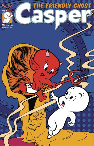 Casper The Friendly Ghost #2 (Homage Jourdan Cover)