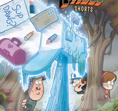 Disney Gravity Falls Cinestory #3 Shorts