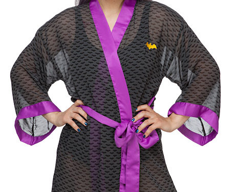 Batgirl Chiffon Cover-Up Robe