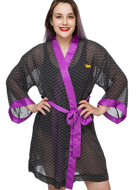 Batgirl Chiffon Cover-Up Robe