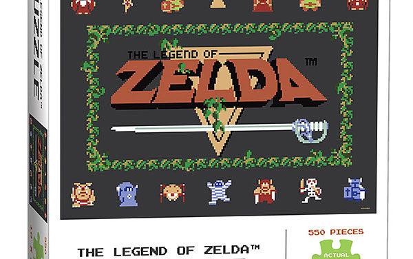 The Legend of Zelda: Classic 550pc Puzzle