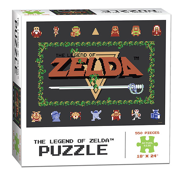 The Legend of Zelda: Classic 550pc Puzzle