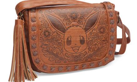 Pokémon Eevee Embossed Crossbody Bag