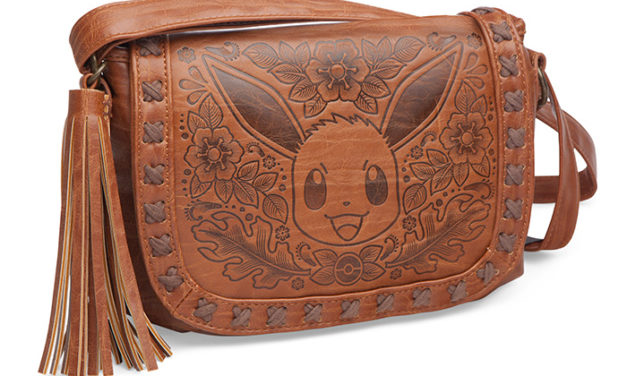 Pokémon Eevee Embossed Crossbody Bag
