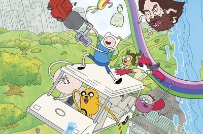 Adventure Time Regular Show #1