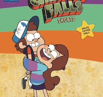 Disney Gravity Falls Cinestory #4 Shorts