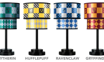 Harry Potter Quiddich Table Lamp