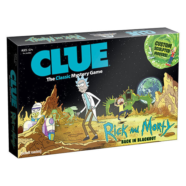 Rick and Morty Clue – Back in Blackout