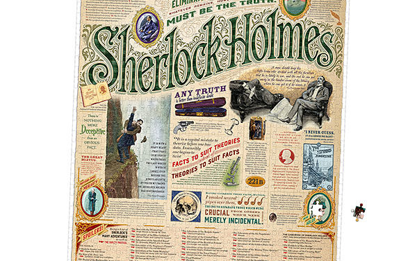 Sherlock Holmes 1000pc Puzzle – Exclusive