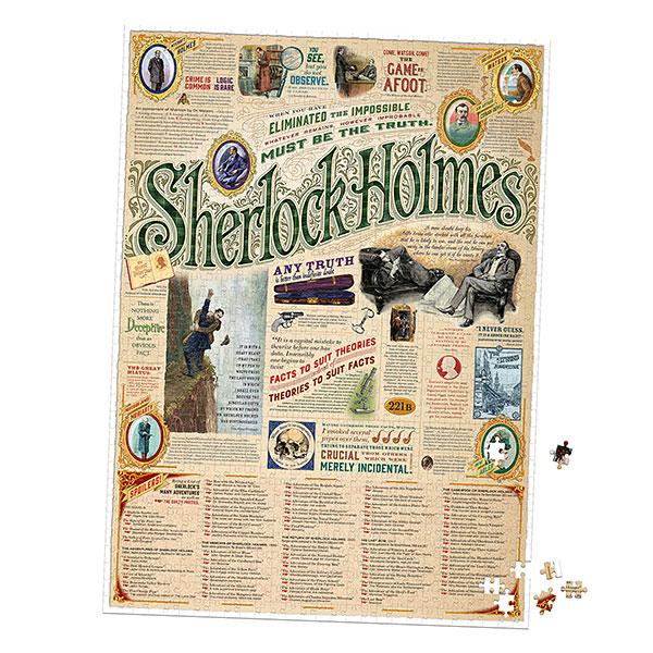 Sherlock Holmes 1000pc Puzzle – Exclusive