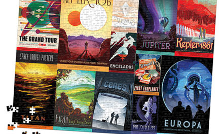 NASA Space Travel Posters 1000pc Puzzle – Exclusive