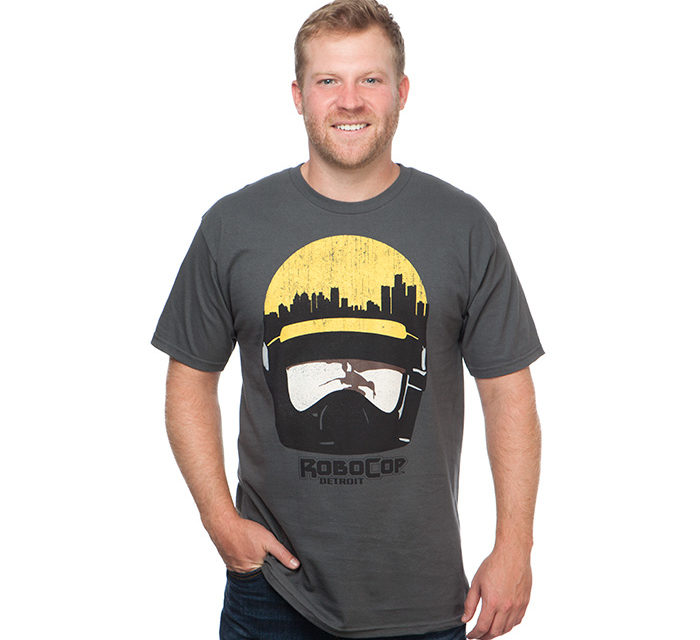 Robocop City Head T-Shirt