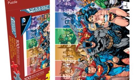 Justice League 100-Piece Pocket Puzzle