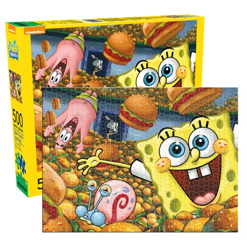 SpongeBob SquarePants Cast 500-Piece Puzzle