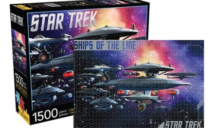 Star Trek Federation Ships of the Line 1,500-Piece Puzzle