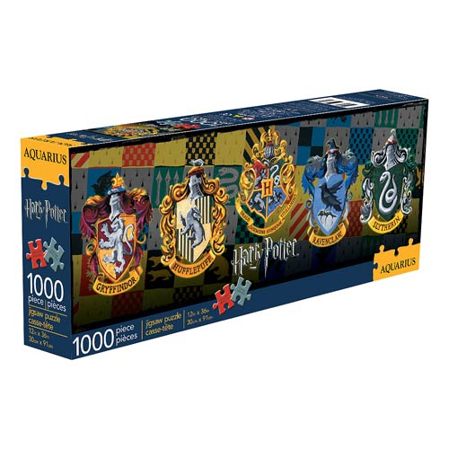 Harry Potter House Crests 1000-Piece Slim Puzzle