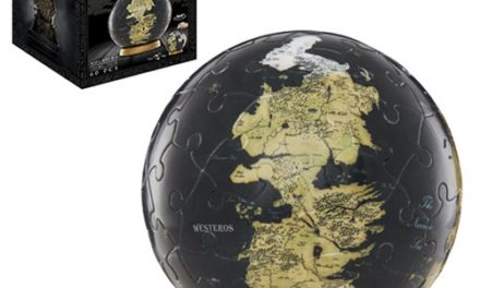 Game of Thrones Westeros and Essos 3-Inch Globe Puzzle