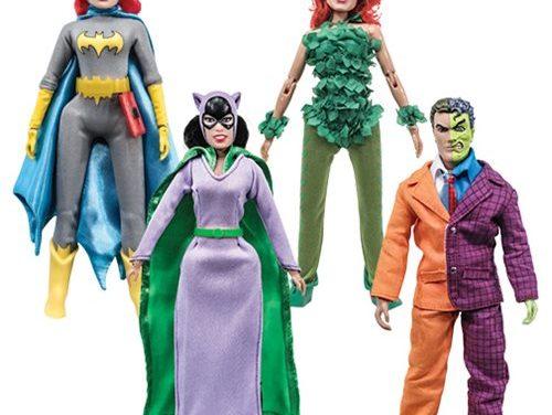 Batman Series 5 Retro 8-Inch Action Figure Set – Free Shipping