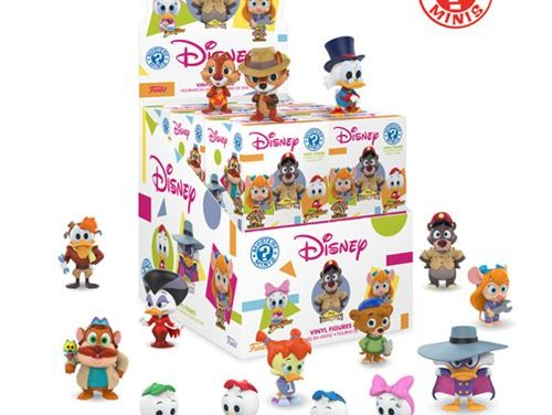 Disney Afternoon Mystery Minis Display Case