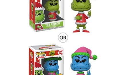 Dr. Seuss The Grinch Santa Grinch Pop! Vinyl Figure