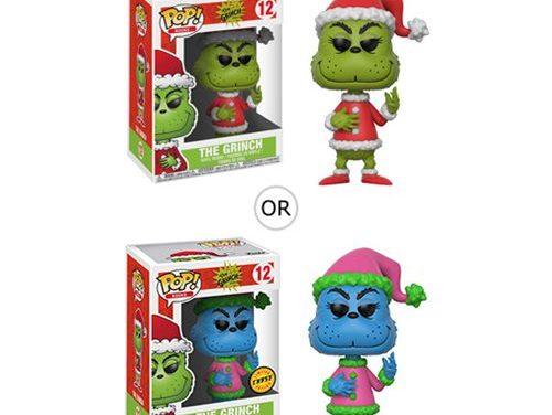 Dr. Seuss The Grinch Santa Grinch Pop! Vinyl Figure