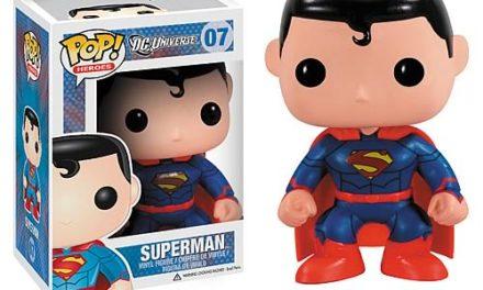 Superman New 52 Previews Exclusive Pop! Vinyl Figure