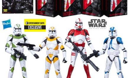 Star Wars The Black Series Clone Troopers of Order 66 6-Inch Action Figures – Free Shipping