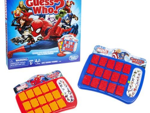 Spider-Man Guess Who? Game