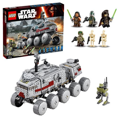 LEGO Star Wars 75151 Clone Turbo Tank – Free Shipping